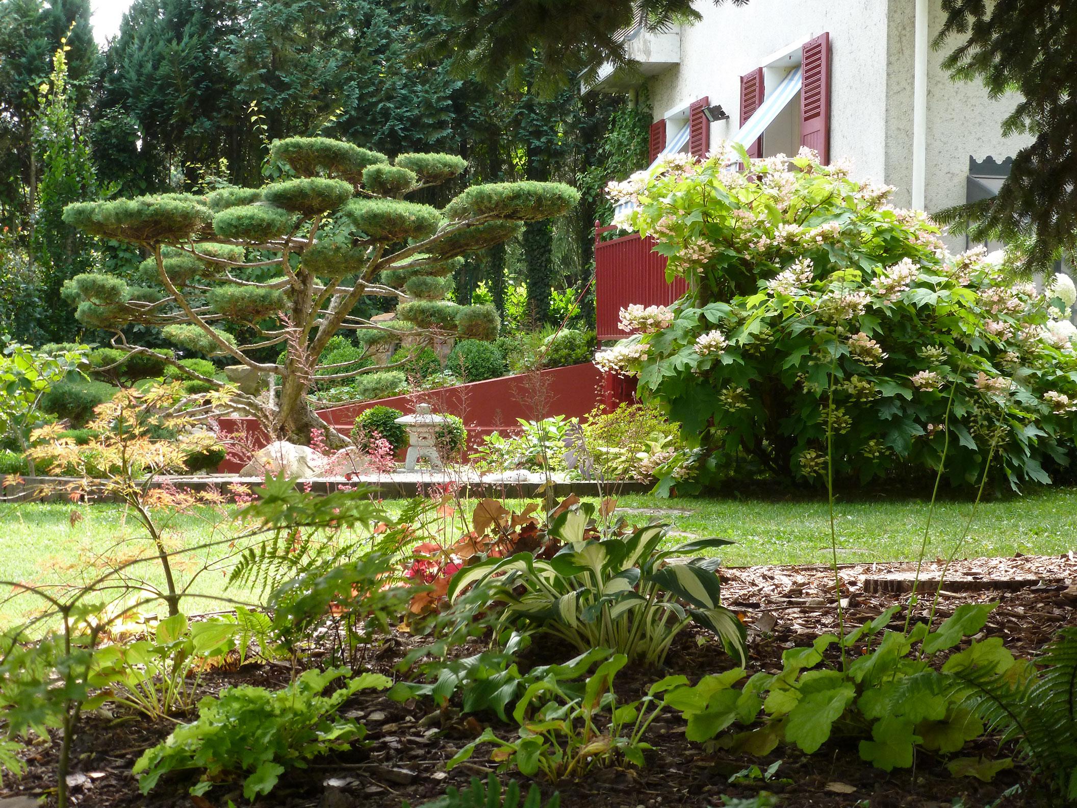 Aménagement jardin japonais Orléans Loiret 45